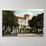 Hotel de Maryland, Pasadena CA c1920s Póster