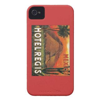 Hotel de México del vintage Case-Mate iPhone 4 Funda
