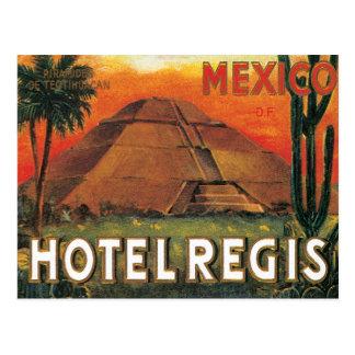 Hotel de México del vintage Tarjetas Postales