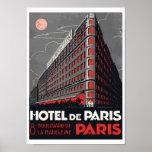 Hotel de París (París) Póster