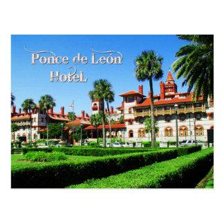 Hotel de Ponce de León, St Augustine, la Florida Postales