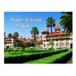 Hotel de Ponce de León, St Augustine, la Florida Postal