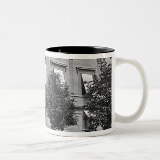 Hotel de Pourtales, late 19th century-early Two-Tone Coffee Mug