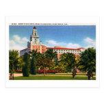 Hotel de Romney, vintage de Miami Beach, la Florid Postal