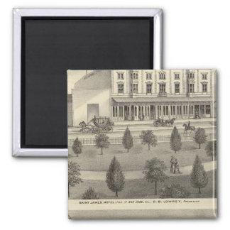 Hotel de San Jaime, residencia Imán Para Frigorífico