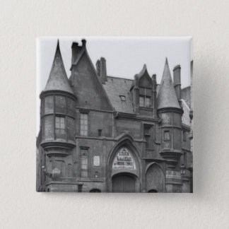 Hotel de Sens, late 19th century-early Pinback Button
