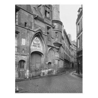Hotel de Sens, siglo-temprano de fines del siglo d Postal
