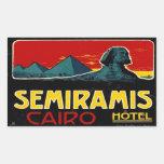 Hotel de Seramis (El Cairo Egipto) Rectangular Altavoces
