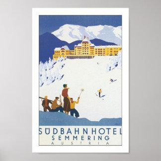 Hotel de Sudbahn - Semmering Póster