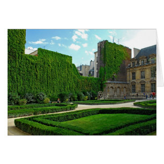 Hotel de Sully-Garden Courtyard Card