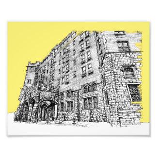 Hotel de Thaye en amarillo Arte Con Fotos