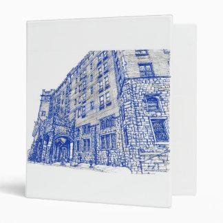 """Hotel de Thayer en azul Carpeta 1"""""""