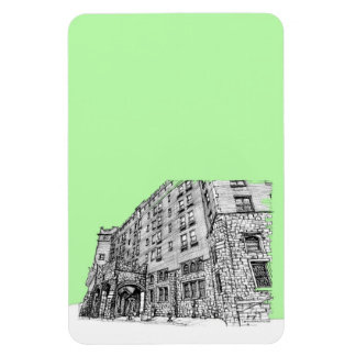 Hotel de Thayer en verde lima Imán
