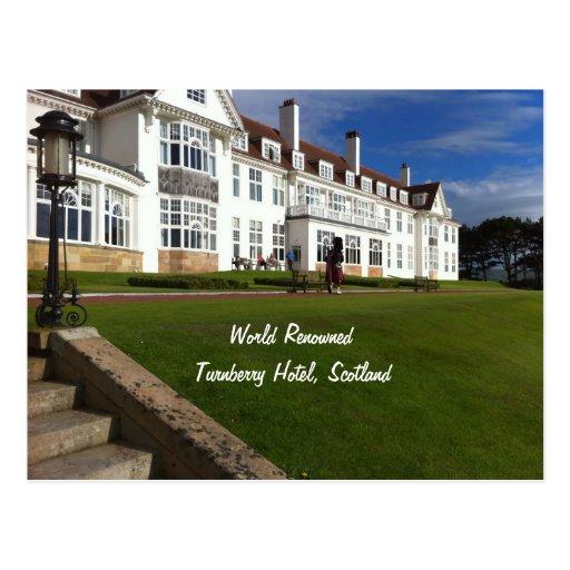 Hotel de Turnberry, Escocia Postal