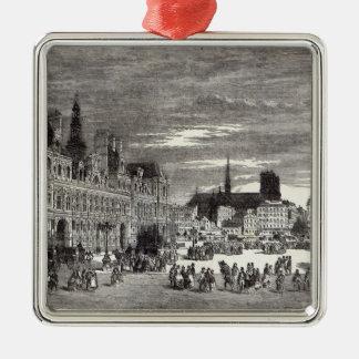 Hotel de Ville, París, 1847 Ornamento Para Reyes Magos