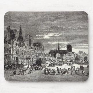 Hotel de Ville, Paris, 1847 Mouse Pads