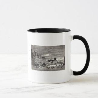 Hotel de Ville, Paris, 1847 Mug