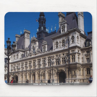 Hotel de Ville, París, Francia Alfombrillas De Ratón