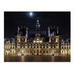 Hotel de Ville Paris Post Card