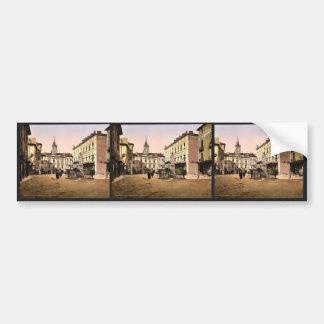 Hotel de ville place, Orange, Provence, France vin Car Bumper Sticker