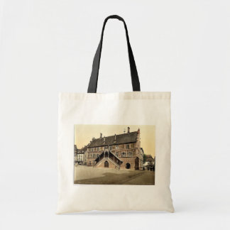 Hotel de Ville (town hall), Mulhausen, Alsace Lorr Budget Tote Bag