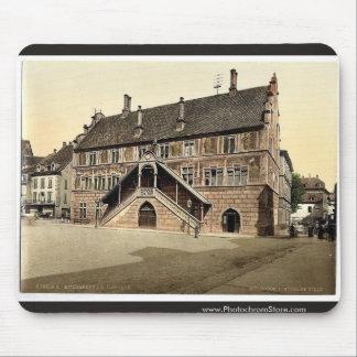Hotel de Ville (town hall), Mulhausen, Alsace Lorr Mouse Pad