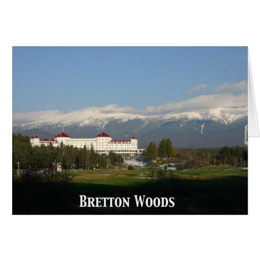Hotel de Washington del soporte, Bretton Woods Tarjetas
