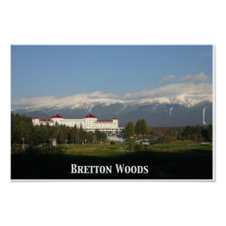 Hotel de Washington del soporte, poster de Bretton