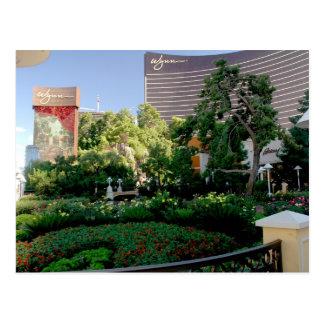 Hotel de Wynn y jardín del casino Postales