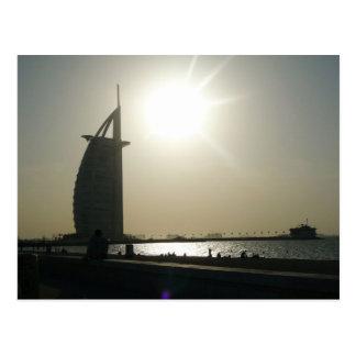 Hotel del árabe del Al de Dubai Burj Tarjeta Postal