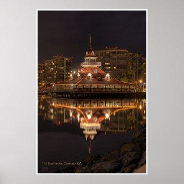 LindseyMedia Hotel Del Boathouse Poster