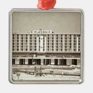 Hotel del buque insignia adorno