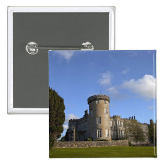 Hotel del castillo de Dromoland adentro Pin Cuadrada 5 Cm