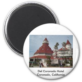 Hotel_del_Coronado 2 Inch Round Magnet