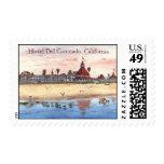Hotel Del Coronado, California Postage Stamp