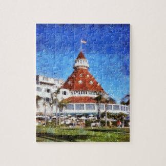 Hotel Del Coronado Jigsaw Puzzle