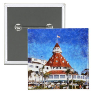 Hotel Del Coronado Pinback Button
