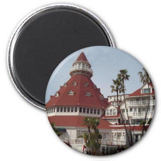 Hotel_del_Coronado Refrigerator Magnets