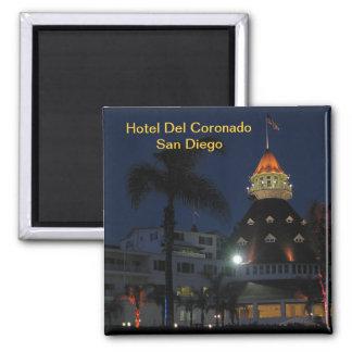 Hotel Del Coronado San Diego California 2 Inch Square Magnet