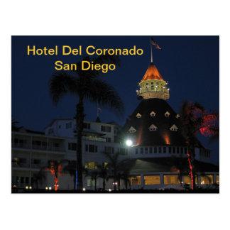 Hotel Del Coronado San Diego California Postales