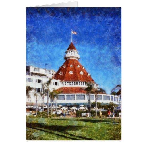 Hotel Del Coronado Tarjeta De Felicitación