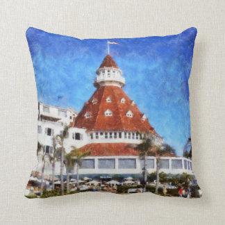 Hotel Del Coronado Throw Pillow