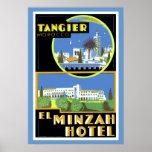 Hotel del EL Minzah, Tánger Póster