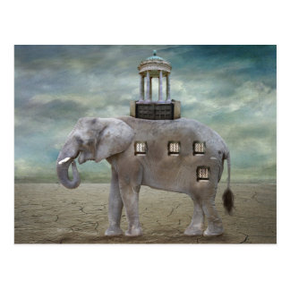 Hotel del elefante tarjeta postal