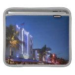 Hotel del faro, impulsión del océano, Miami Beach  Fundas Para iPads
