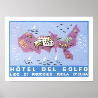 Hotel Del Golfo Póster
