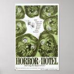 """""""Hotel del horror"""" o """"ciudad"""" del cartel de pelícu Póster"""