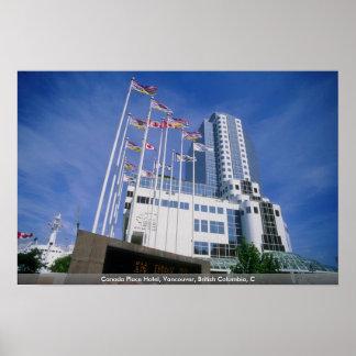 Hotel del lugar de Canadá, Vancouver, Columbia Bri Impresiones