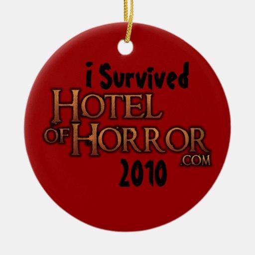 Hotel del ornamento del horror 2010 ornamento para reyes magos
