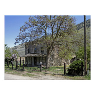 Hotel del pueblo fantasma del Nighthawk Impresiones